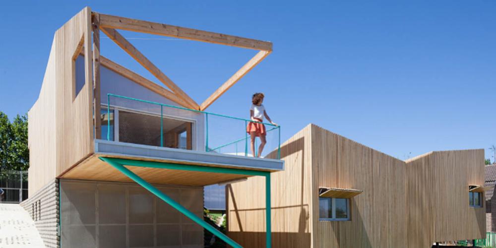 X lam modom architecture design for Case in legno svantaggi